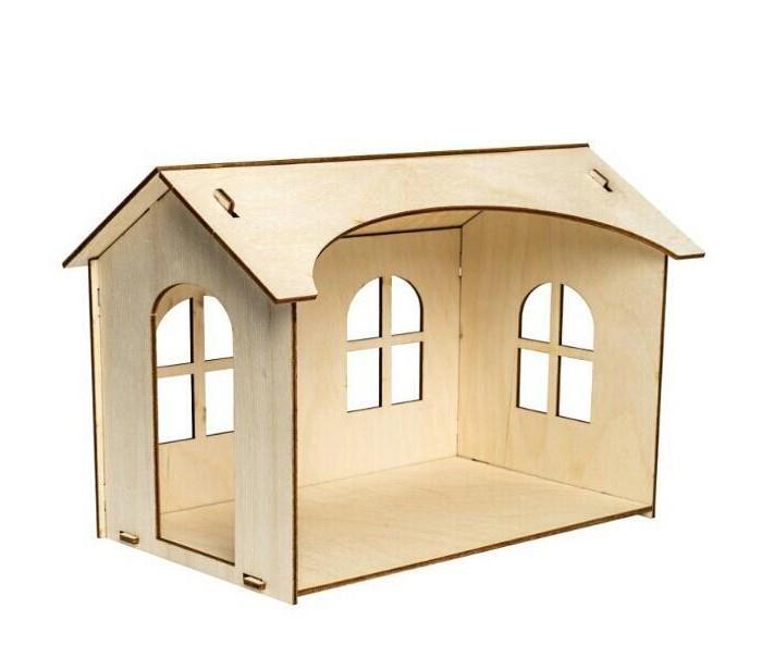 Кукольные домики и мебель Paremo Конструктор Кукольный домик Я дизайнер Мини