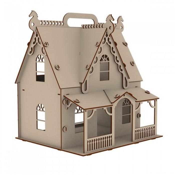 Кукольные домики и мебель Paremo Конструктор Кукольный домик Я дизайнер Загородная усадьба