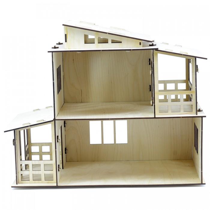 Кукольные домики и мебель Paremo Конструктор Кукольный домик Я дизайнер Загородная вилла