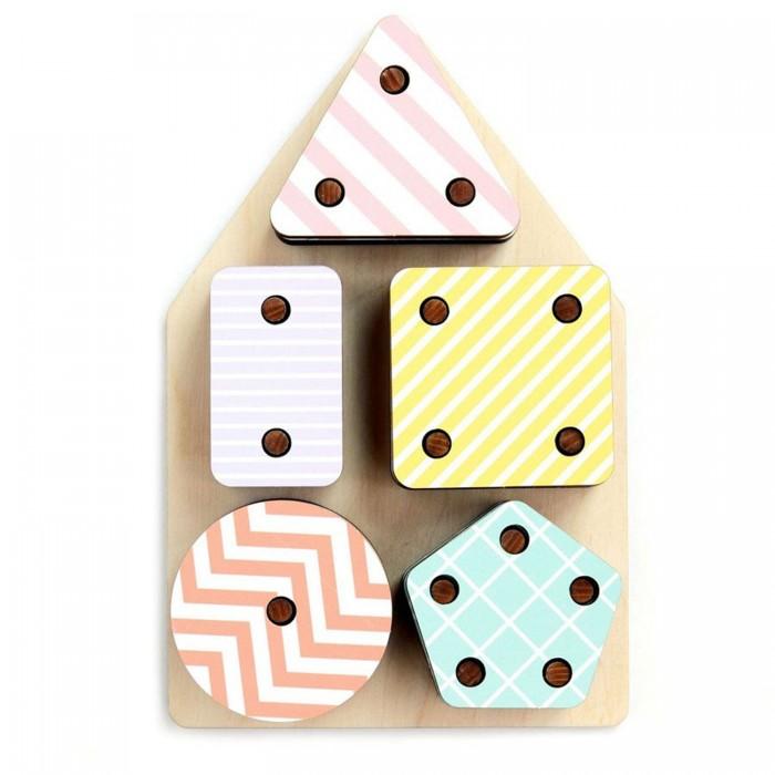 Фото - Деревянные игрушки Paremo Игровой набор Геоборд (26 элемента) деревянные игрушки paremo игровой набор чей хвост