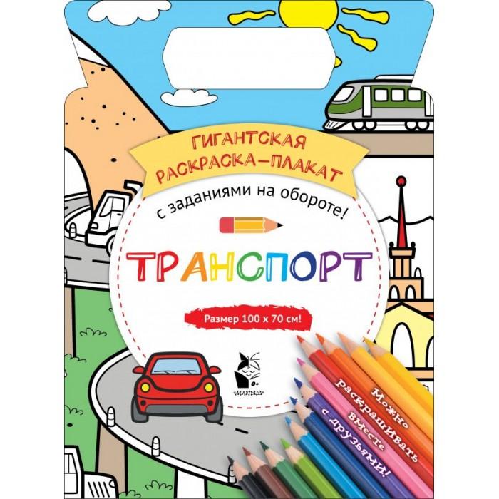 Раскраски Издательство АСТ Транспорт 100x70 см недорого