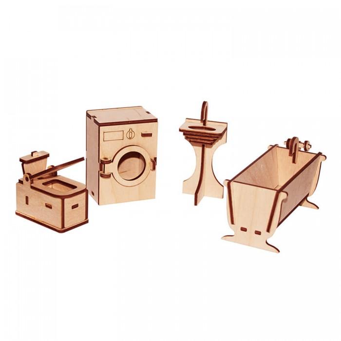 Кукольные домики и мебель Paremo Конструктор Мебель для кукол Я дизайнер Ванная