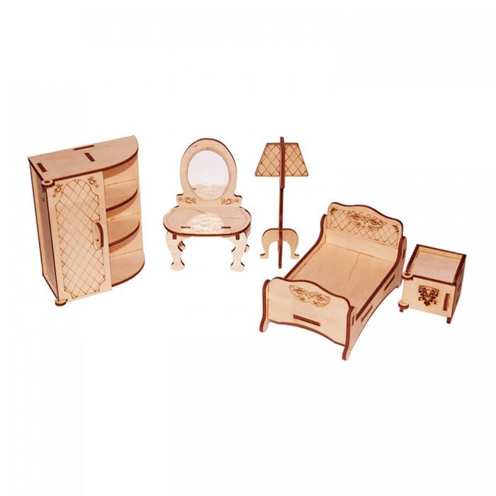 Кукольные домики и мебель Paremo Конструктор Мебель для кукол Я дизайнер Спальня
