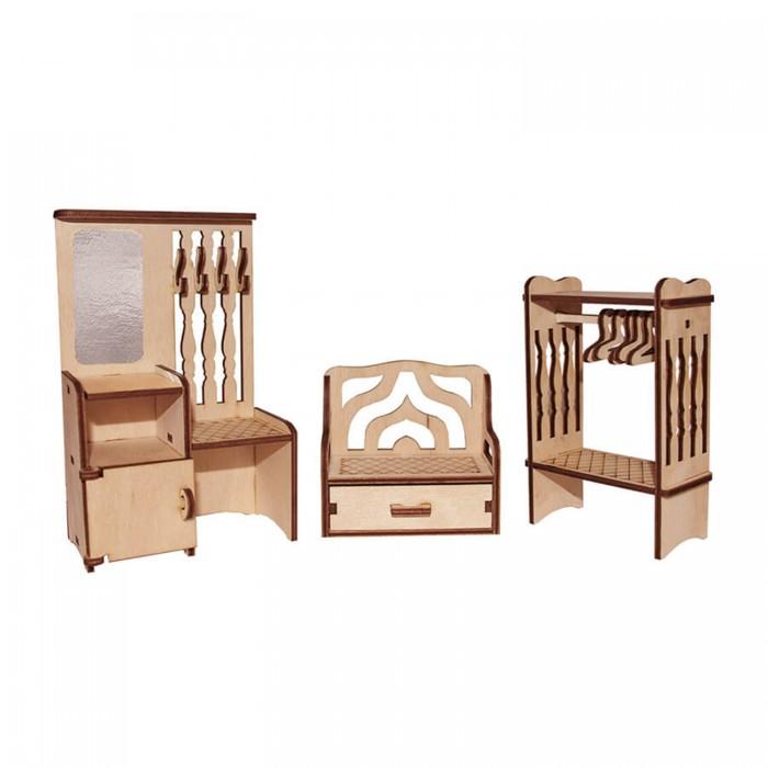 Кукольные домики и мебель Paremo Конструктор Мебель для кукол Я дизайнер Прихожая