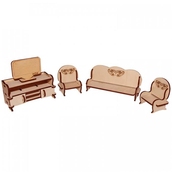 Кукольные домики и мебель Paremo Конструктор Мебель для кукол Я дизайнер Гостиная