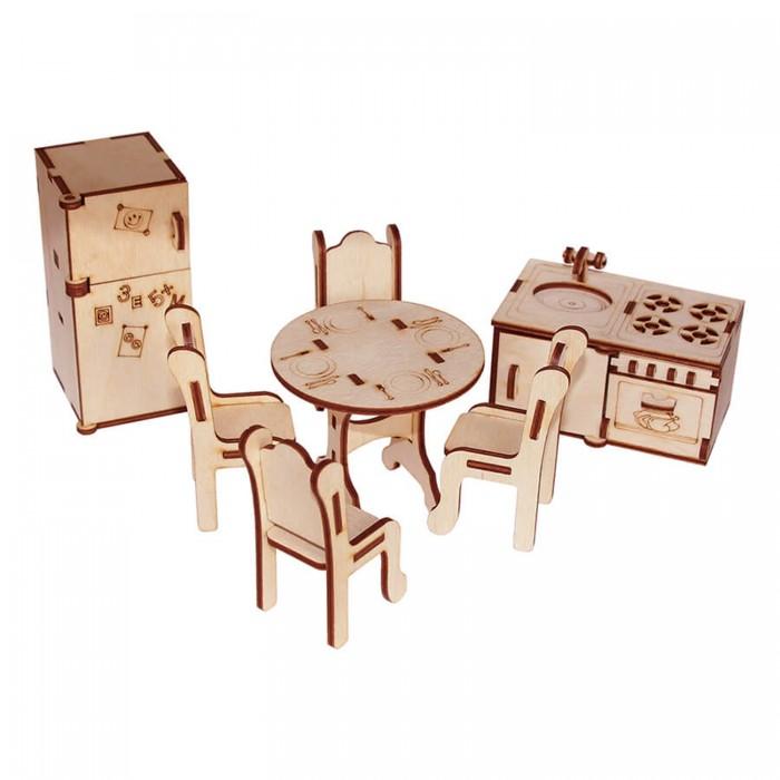 Кукольные домики и мебель Paremo Конструктор Мебель для кукол Я дизайнер Кухня