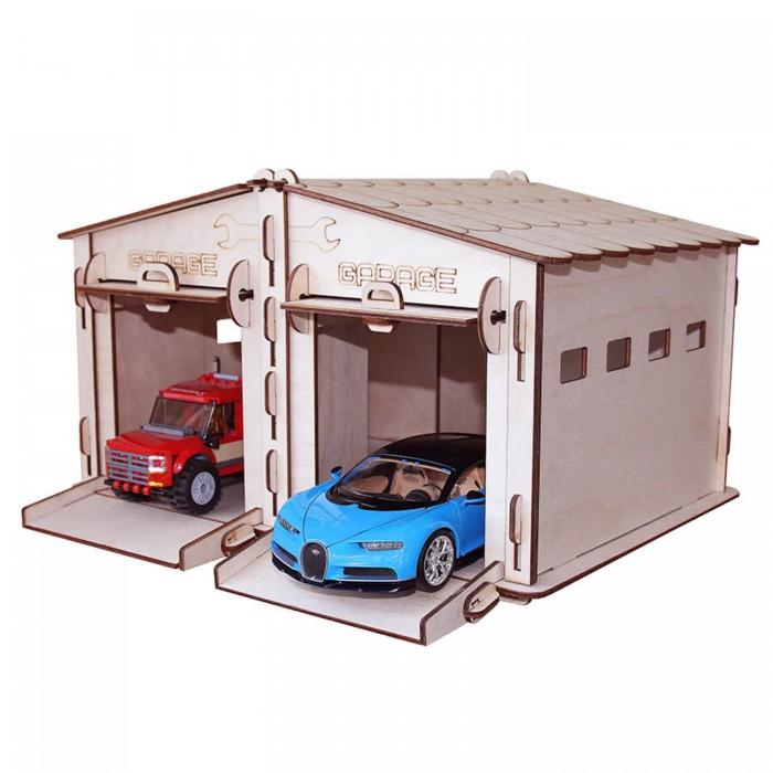 Конструкторы Paremo Игровой набор Гараж-тандем набор игровой для гонок dolu большой гараж