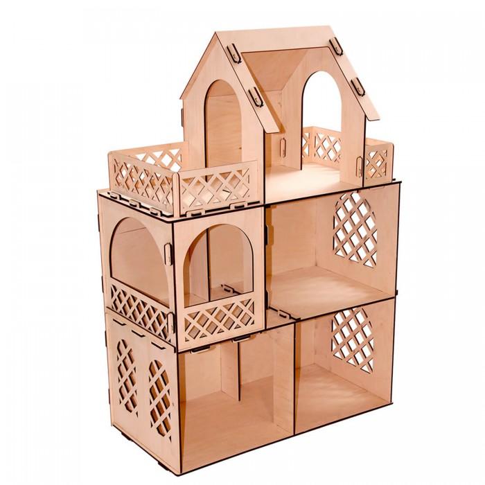 Кукольные домики и мебель Paremo Конструктор Кукольный домик для мини-кукол Я дизайнер