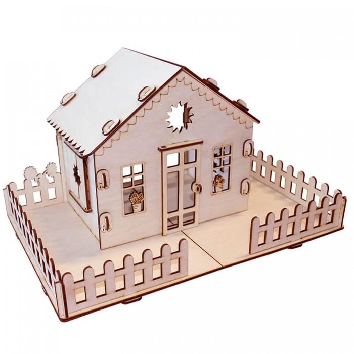 Кукольные домики и мебель Paremo Конструктор Кукольный домик Я дизайнер Дачный домик
