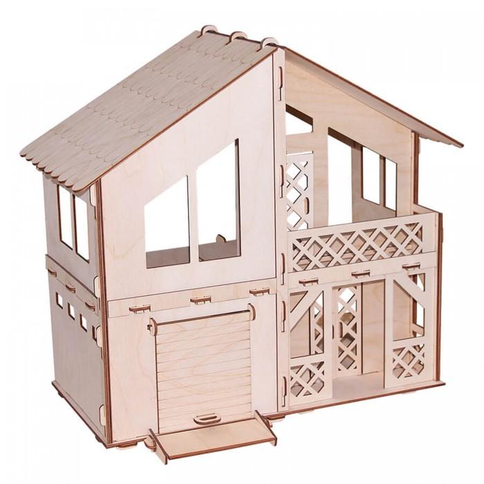 Кукольные домики и мебель Paremo Конструктор Кукольный домик Я дизайнер Дачный домик с гаражом