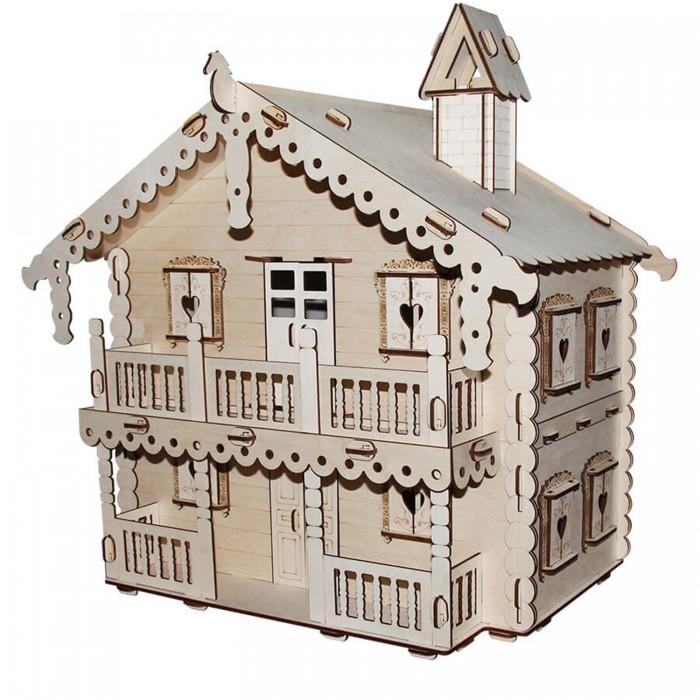 Кукольные домики и мебель Paremo Конструктор Кукольный домик Я дизайнер Русский дом