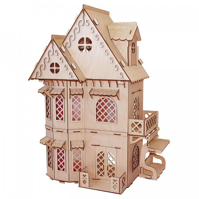 Кукольные домики и мебель Paremo Конструктор Кукольный домик Я дизайнер Дом принцессы