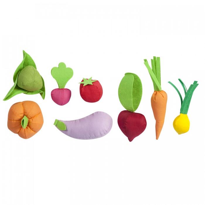Купить Ролевые игры, Paremo Набор овощей с карточками (8 предметов)