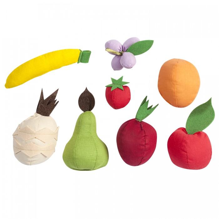 Купить Ролевые игры, Paremo Набор фруктов с карточками (8 предметов)