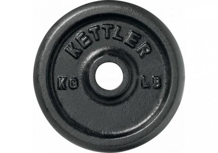 Спортивный инвентарь Kettler Диск литой 1.25 кг диск