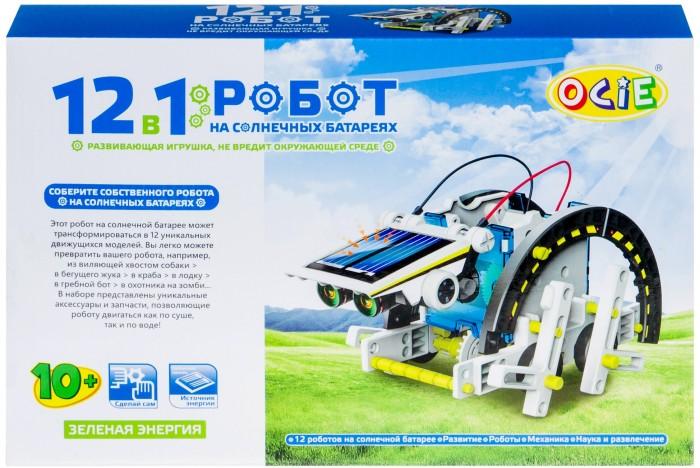 Конструктор Ocie Набор 12 в 1: Робот на солнечных батареях OTC0874617