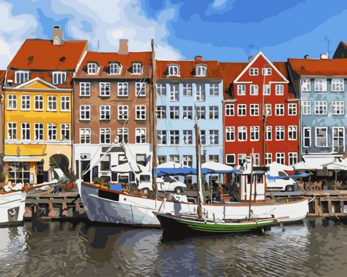 Купить Картины по номерам, Paintboy Картина по номерам Амстердам 40х50 см