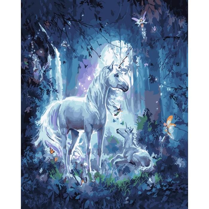 Купить Картины по номерам, Paintboy Картина по номерам Таинственный свет 40х50 см
