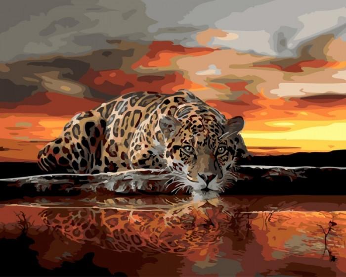 Купить Картины по номерам, Paintboy Картина по номерам На закате 40х50 см
