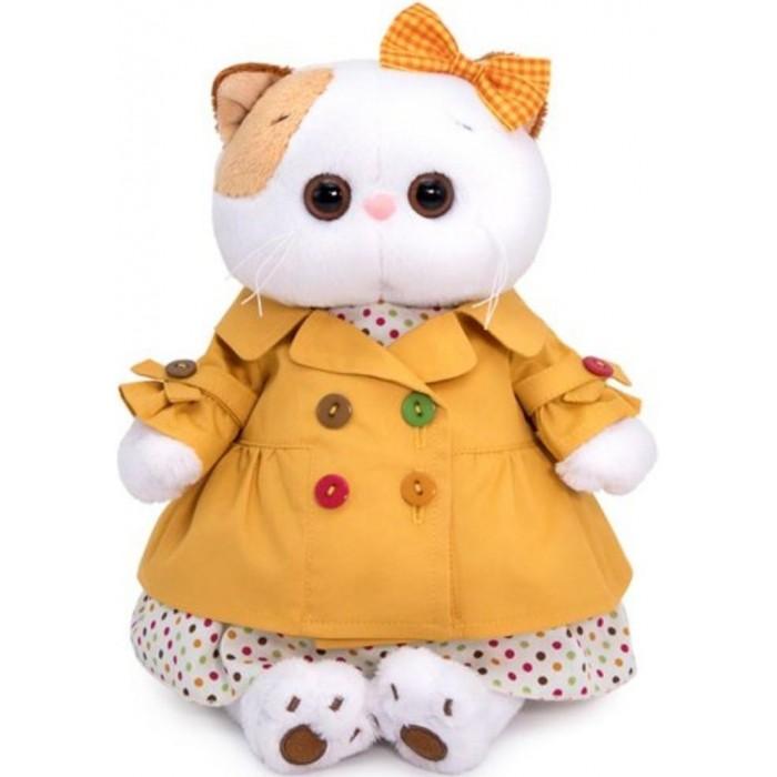 Купить Мягкие игрушки, Мягкая игрушка Budi Basa Кошечка Ли-Ли в оранжевом плаще 24 см