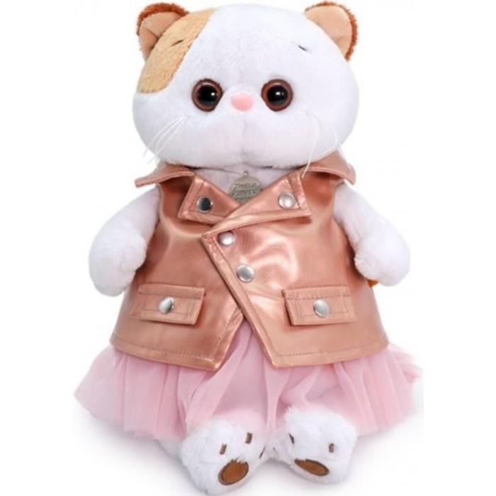 Купить Мягкие игрушки, Мягкая игрушка Budi Basa Кошечка Ли-Ли в юбке и жилетке 24 см