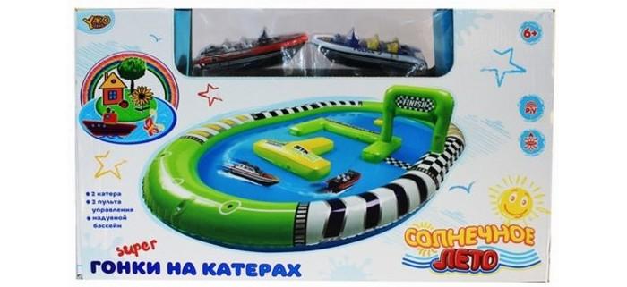 Радиоуправляемые игрушки Наша Игрушка Игровой набор Забавные гонки Катер р/у 2 шт.