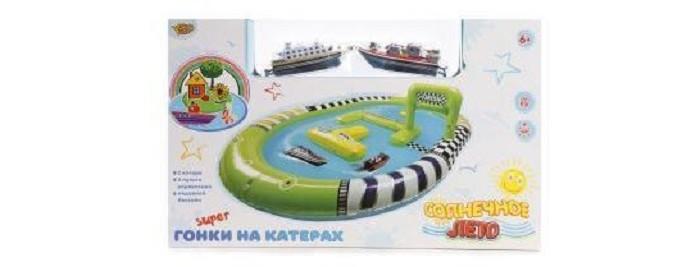 Наша Игрушка Игровой набор Забавные гонки Корабль р/у 2 шт. от Наша Игрушка