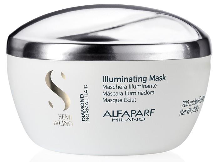 Косметика для мамы Alfaparf Маска для нормальных волос, придающая блеск SDL D Illuminating mask 200 мл маска придающая объём density mask