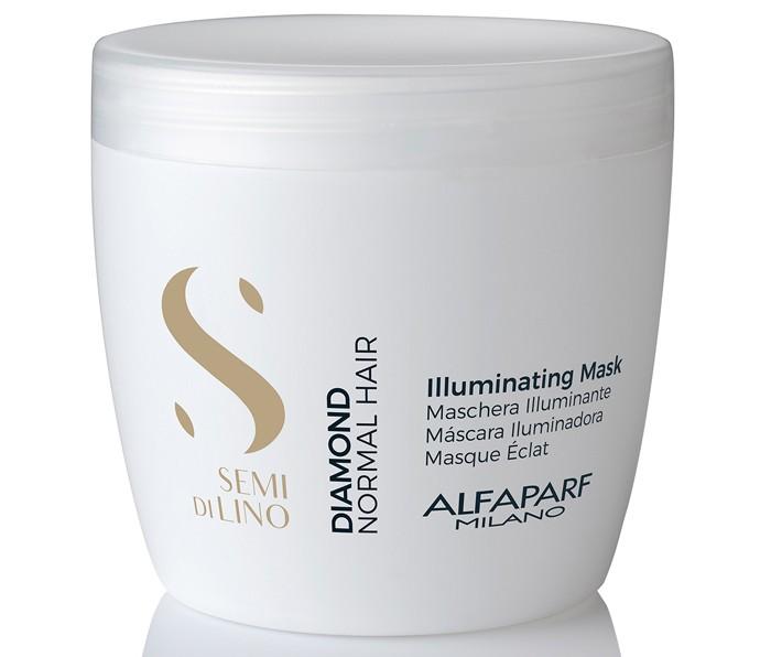 Косметика для мамы Alfaparf Маска для нормальных волос, придающая блеск SDL D Illuminating mask 500 мл маска придающая объём density mask