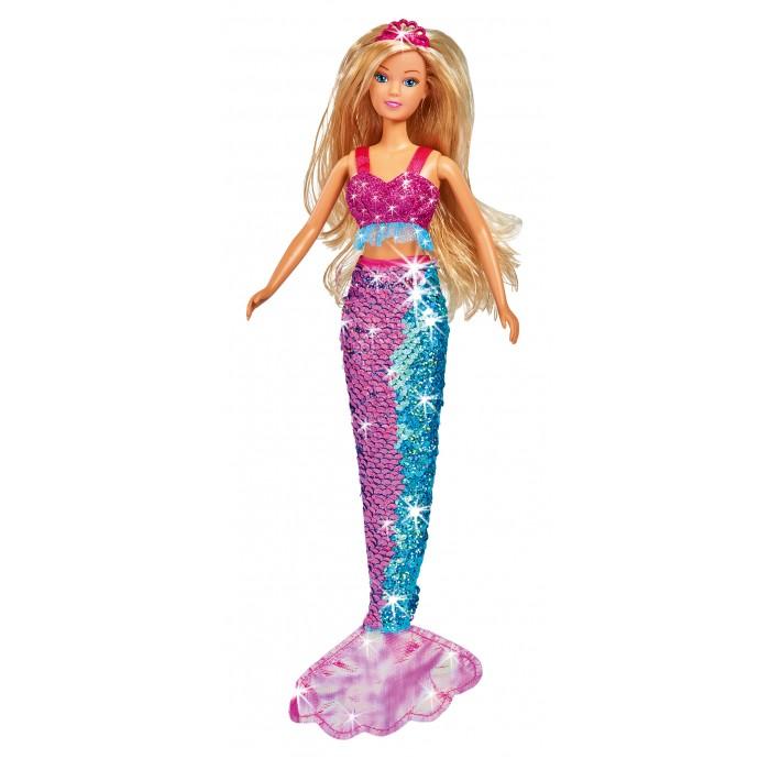 Картинка для Куклы и одежда для кукол Simba Кукла Штеффи русалка хвостик с двусторонними пайетками 29 см