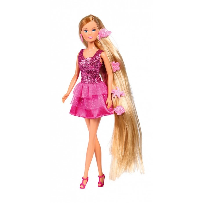 Купить Куклы и одежда для кукол, Simba Кукла Штеффи набор Парикмахер 29 см