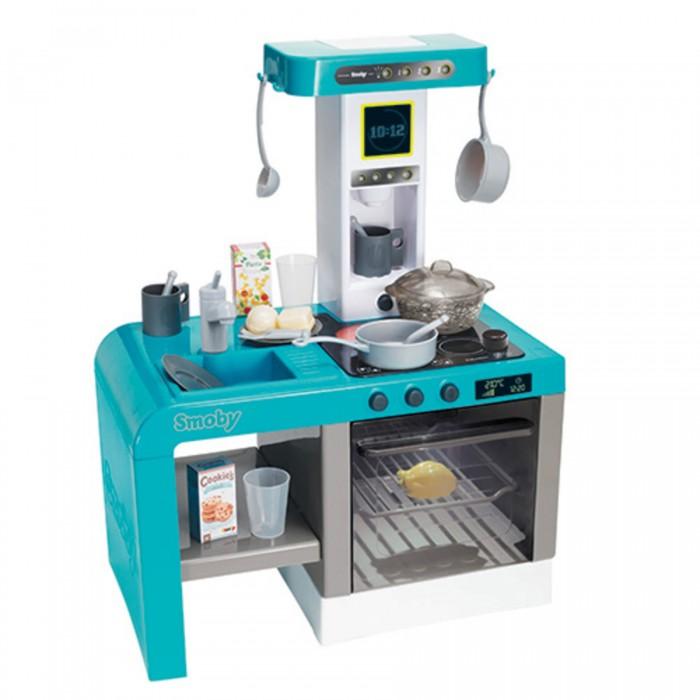 Ролевые игры Smoby Детская электронная кухня Tefal Cheftronic (кипение, свет, звук) детская кухня с аксесс свет звук bt543406 1 kari