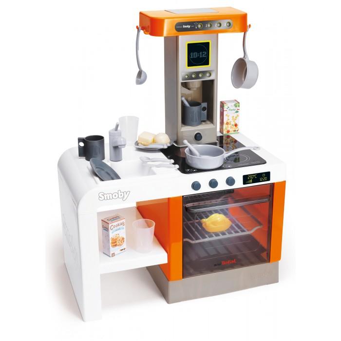 Купить Ролевые игры, Smoby Детская электронная кухня Tefal Cheftronic (свет, звук)