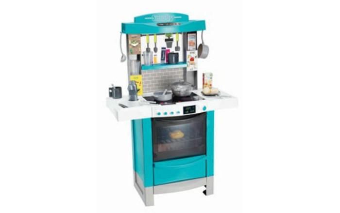 Ролевые игры Smoby Детская электронная кухня Tefal Cooktronic (кипение, свет, звук) детская кухня с аксесс свет звук bt543406 1 kari
