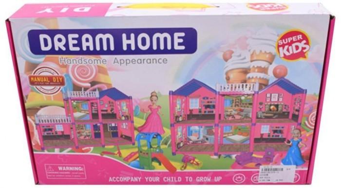 Фото - Кукольные домики и мебель Наша Игрушка Игровой набор Особняк (25 предметов) кукольные домики и мебель наша игрушка игровой набор кукольный домик 12 предметов