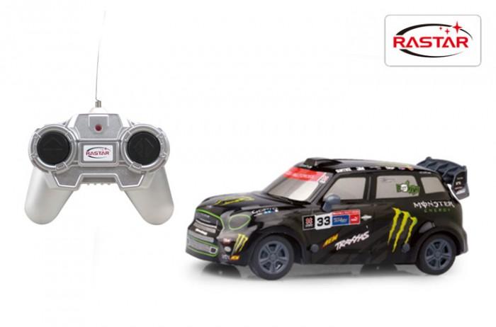 Купить Радиоуправляемые игрушки, Rastar Машина на радиоуправлении Mini Countryman JCW RX 1:24