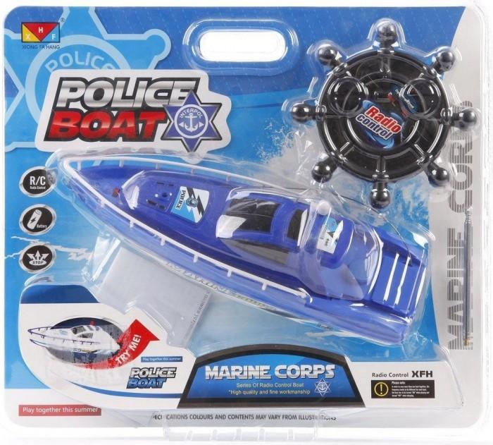 Радиоуправляемые игрушки Наша Игрушка Катер радиоуправляемый Полиция