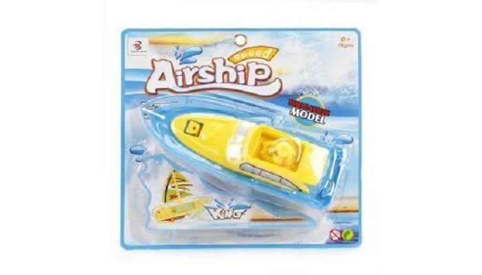 Игрушки для ванны Наша Игрушка Электрифицированный катер 586-35A