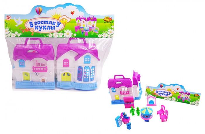 Кукольные домики и мебель ABtoys В гостях у куклы Дом с мебелью человечками