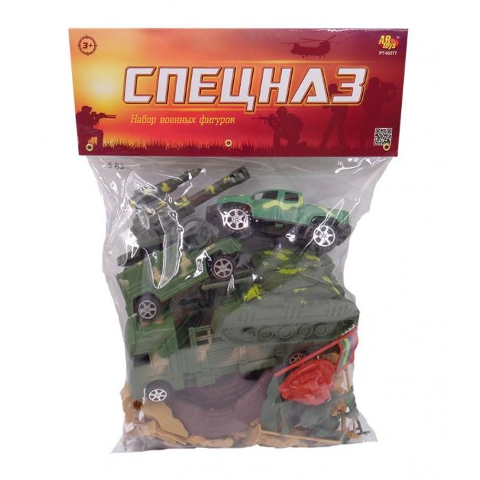 Игровые наборы ABtoys Военный набор Спецназ (38 предметов)
