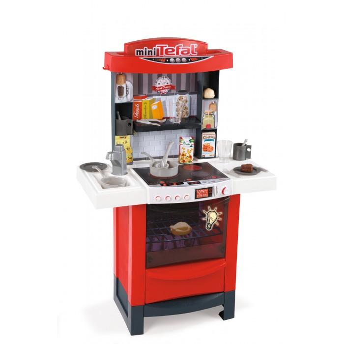 Купить Ролевые игры, Smoby Детская электронная кухня Tefal Cooktronic (свет, звук)