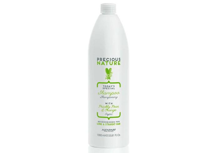 Косметика для мамы Alfaparf Шампунь для длинных и прямых волос Precious nature long/straight hair oil shampoo 1000 мл цена 2017