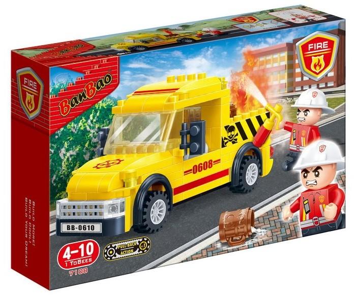 цена на Конструкторы BanBao Пожарная машина (105 деталей)
