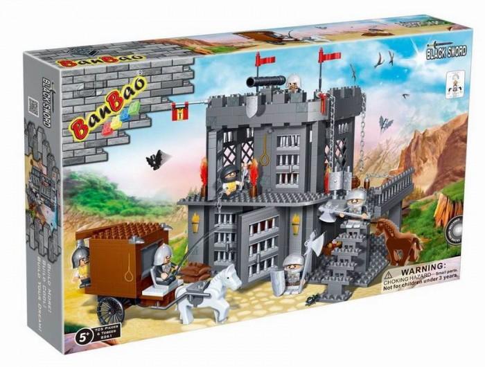 Конструктор BanBao Замок (705 деталей)
