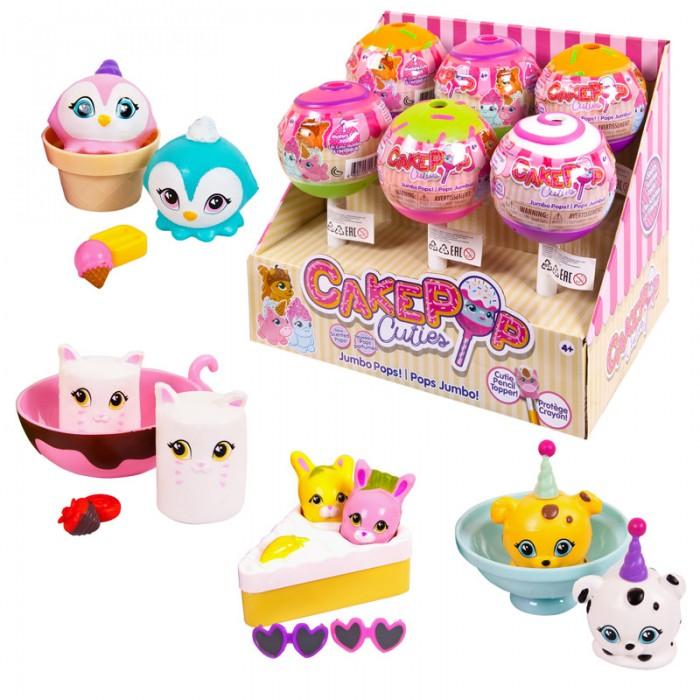 Игровые фигурки Cake Pop Cuties Игрушка в капсуле Jumbo Single