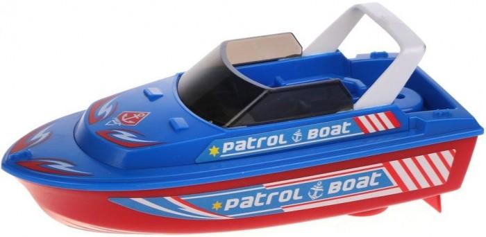 Игрушки для ванны Наша Игрушка Патрульный катер 6685A