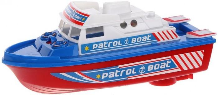 Игрушки для ванны Наша Игрушка Патрульный катер 6683A