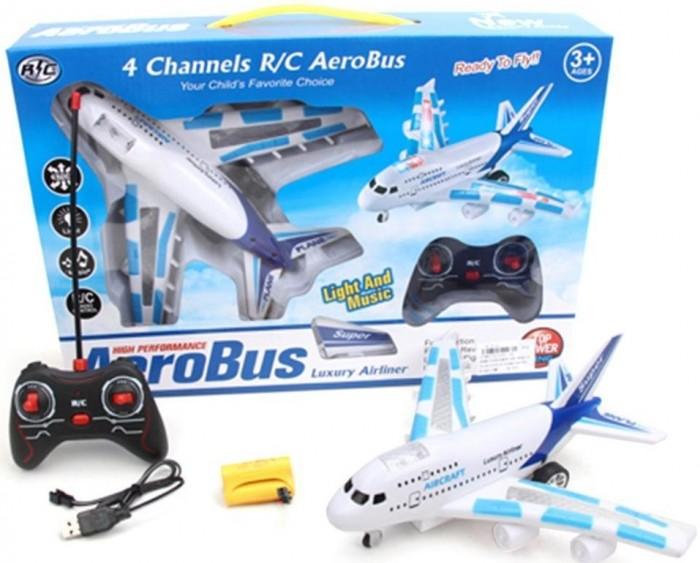 Наша Игрушка Самолет радиоуправляемый 1101-1A от Наша Игрушка