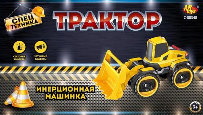 Машины ABtoys Спецтехника Машинка инерционная Трактор