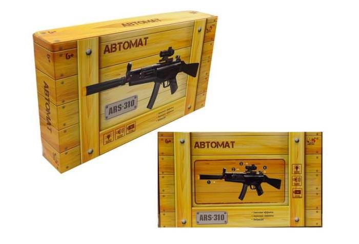 Фото - Игрушечное оружие ABtoys Автомат ARS-310 игрушечное оружие яигрушка автомат ппш